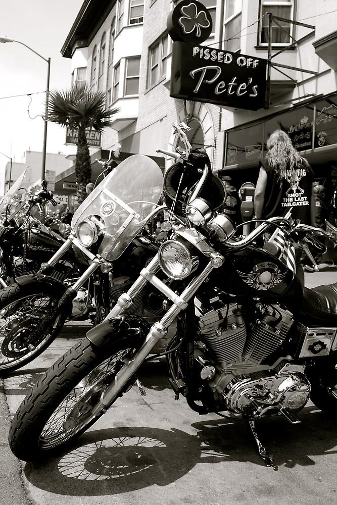 Barbary Coast Motorcycle Club by Rebecca Veldman