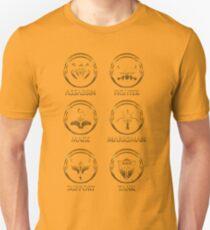 League of Legends Roleplay Teambuilder [gold emblems] T-Shirt