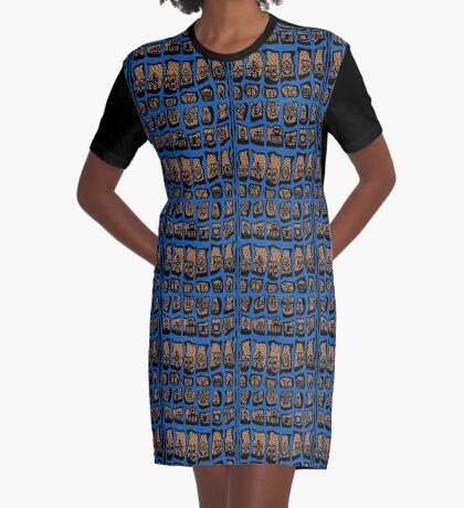 DENIM Graphic T-Shirt Dress