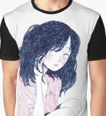 pink-blue girl 2 Graphic T-Shirt