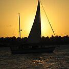 Sunset Yacht by vasu