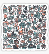 61 Characters Sticker