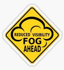 fog sing Sticker