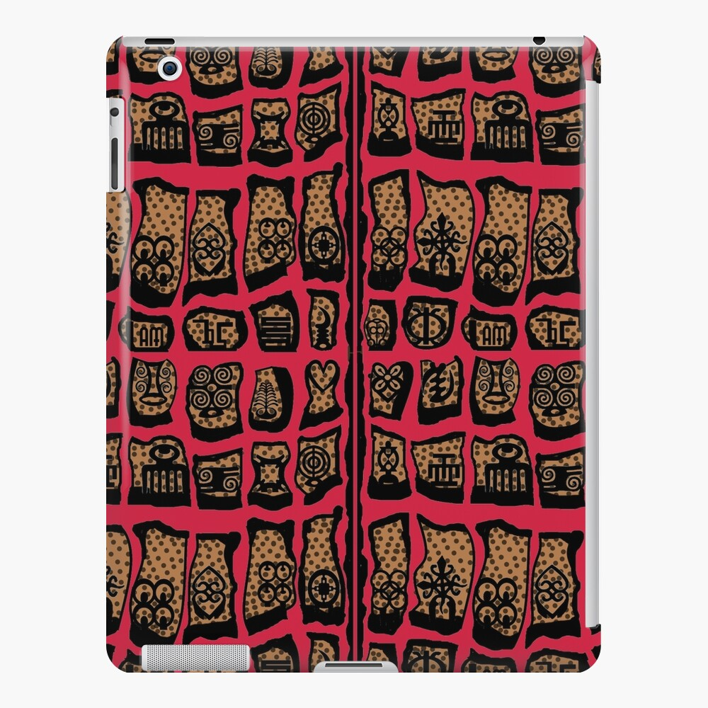 Cardinal Rules iPad Case & Skin