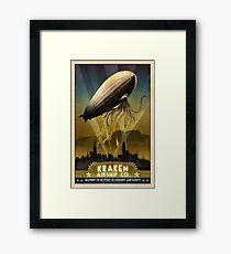 Steampunk Airship: Admiral Rosendahl Framed Print