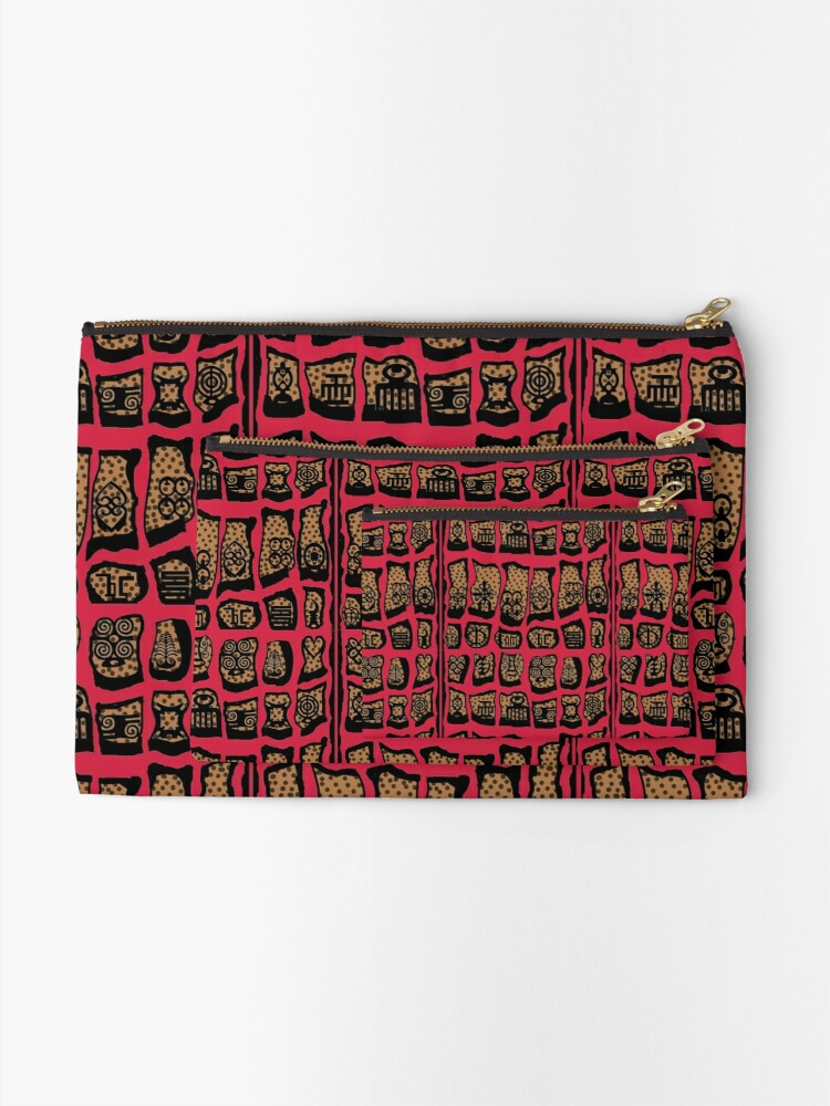 Alternate view of Cardinal Rules Zipper Pouch