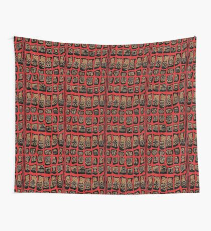 Cardinal Rules Wall Tapestry
