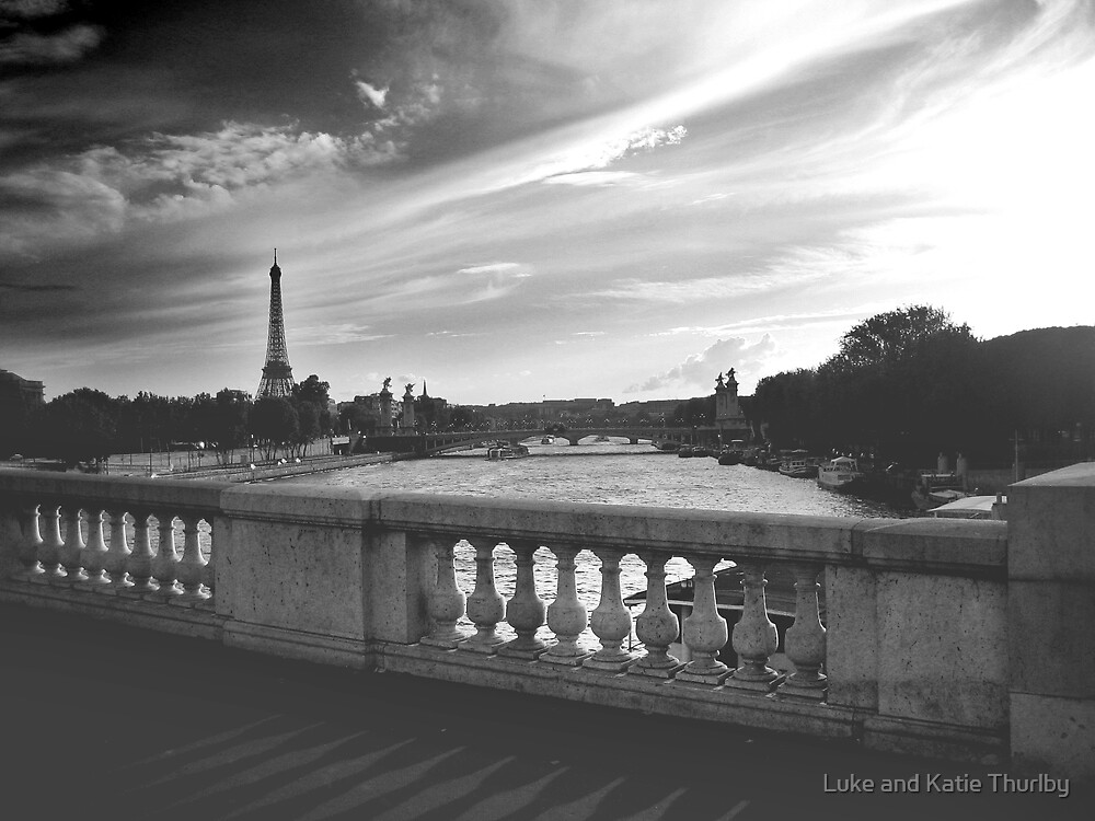 Paris in Black and White by Luke and Katie Thurlby