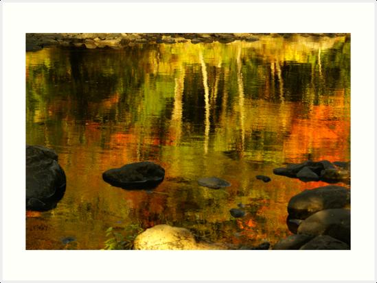 Monet autumnal by Aimelle