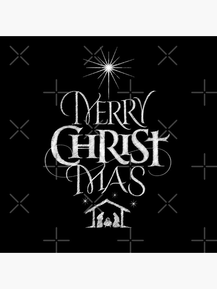 Christliche Bilder Weihnachten.Frohe Weihnachten Religiöse Christliche Kalligraphie Christus Mas Tafel Jesus Geburt Tasche