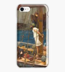 John William Waterhouse - Ulysses and the Sirens, 1891 iPhone Case/Skin