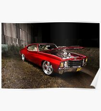 Ben's Chevrolet Chevelle Coupe Poster