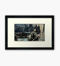 Middle Earth Shadow Of Mordor Print Framed Print