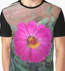 Pink Petals Graphic T-Shirt