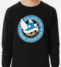 Blaue Schildkrötenpanzer Leichter Pullover
