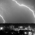 Spokane Electric Skies by Bailey Sampson