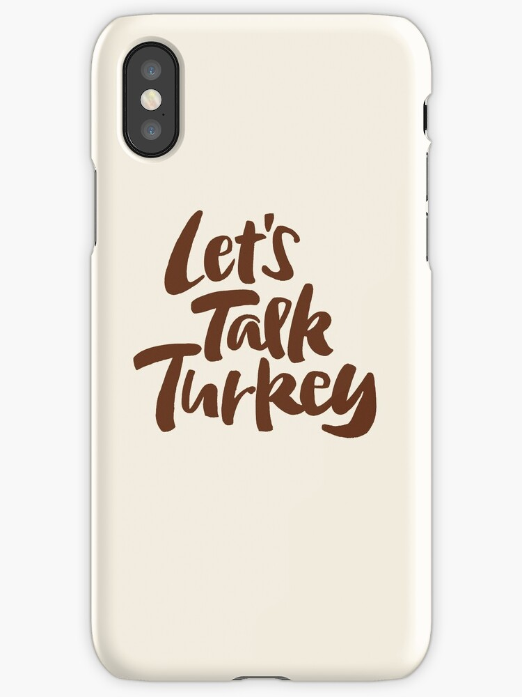 """Let's Talk Turkey"" Thanksgiving Dinner Business Meeting Lettering by 26-Characters"