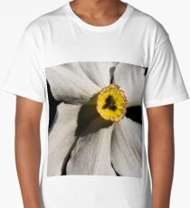 Poet's Daffodil Long T-Shirt