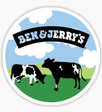 Ben and Jerrys Sticker