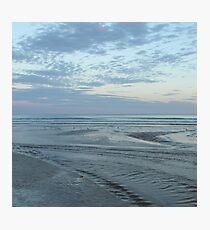 blue sunset 1 Photographic Print