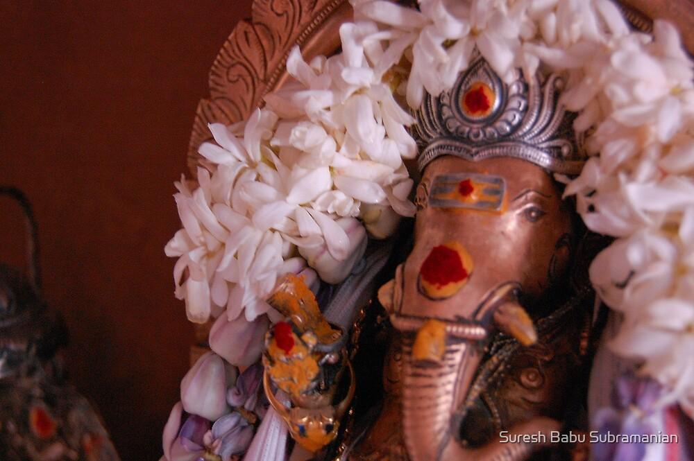 Lord Ganesh by Suresh Babu Subramanian