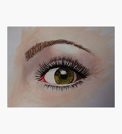 Eye eye - just an eye Photographic Print