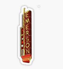 Emerson College Theater Sticker