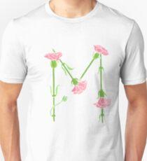 Watercolor Carnation Mu T-Shirt