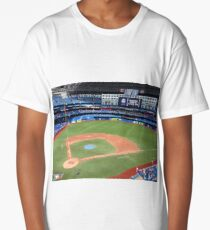 Toronto Blue Jays Stadium  Long T-Shirt