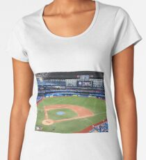 Toronto Blue Jays Stadium  Women's Premium T-Shirt