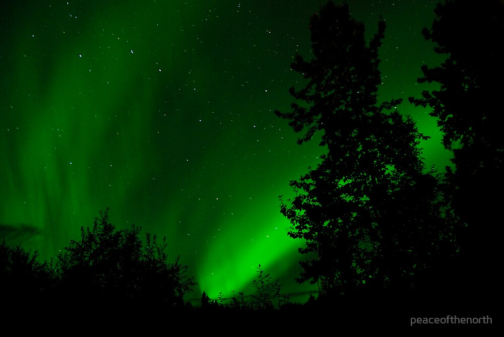 The Big Dipper in Green by peaceofthenorth