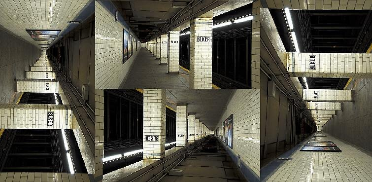 4 Dimension subway by meowymeowcat