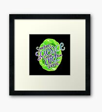 The Art of Science Remix Dub Step Edition Framed Print