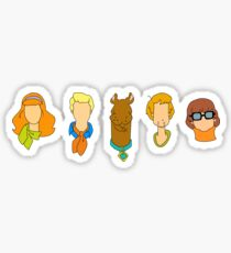 MYSTERY INC. GANG Sticker