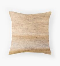 Rustic Weathered Wood Country Western Wooden Throw Pillow