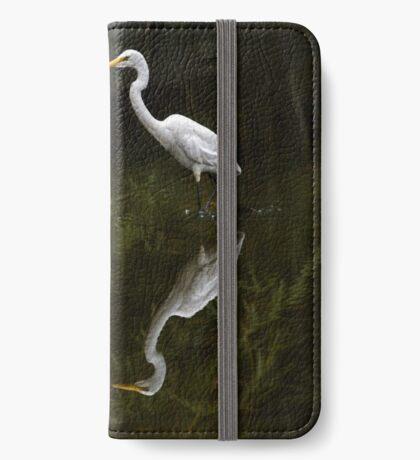 Durch das Wasser waten iPhone Flip-Case