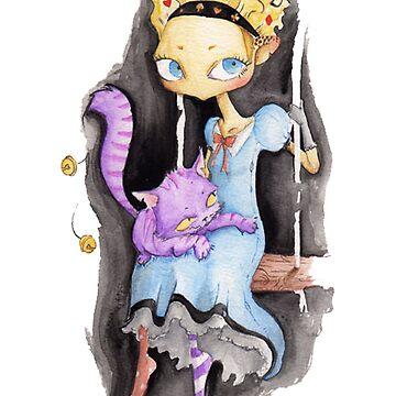 Alice in wonderland by TiZ83