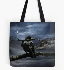 "Quoth The Raven, ""Nevermore"" Tote Bag"