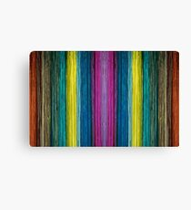 Colors of the brush Canvas Print
