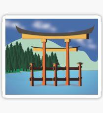 Torii Gate Sticker