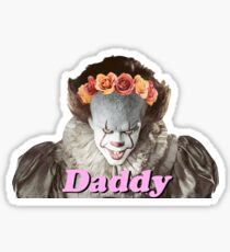 Pennywise Daddy Sticker