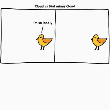 Cloud vs Bird minus Cloud by scttw