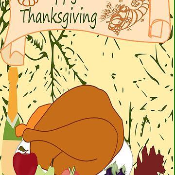 Pumpkin Spice & Happy Thanksgiving (4009 Views) by aldona
