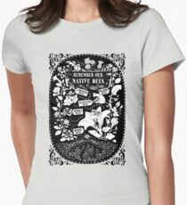Our Native Bees Women's Fitted T-Shirt