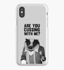 Badger (Fantastic Mr. Fox) iPhone Case/Skin