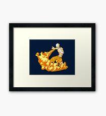 Fire Bend Aang  Framed Print