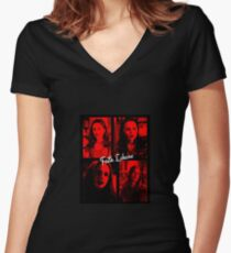 Faith Lehane Women's Fitted V-Neck T-Shirt