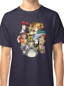 Studio Ghibli Collage Classic T-Shirt