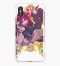 My Little Pony Movie Tempest Shadow vs Twilight Sparkle iPhone Case/Skin