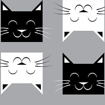 Geometric Cats by Mandrie